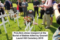 Gosnell Victim Burial